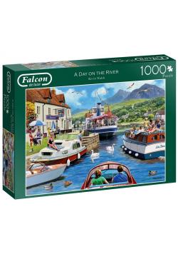 Puzzle 1000 Falcon Relaks nad rzeką G3