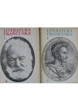 Literatura francuska Tom I i II