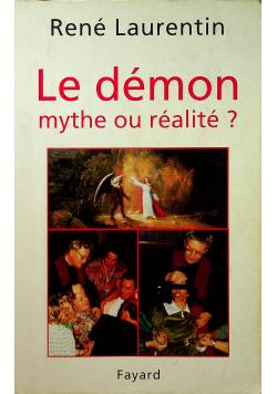 Le demon mythe ou relite
