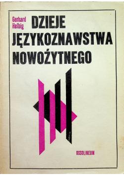 Dzieje językoznawstwa nowożytnego