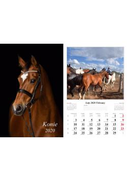 Kalendarz 2020 wieloplanszowy Konie