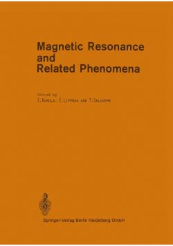 Magnetic Resonance and Related Phenomena
