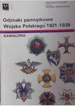 Odznaki pamiątkowe Wojska Polskiego 1921 1939