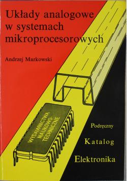 Układy analogowe w systemach mikroprocesorowych