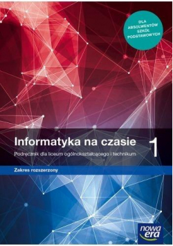 Informatyka LO 1 Na czasie Podr. ZR NE