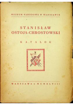 Stanisław Ostoja Chrostowski Katalog 1948 r.