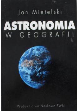 Astronomia w geografii