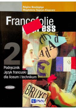 Francofolie express 2 Podręcznik Język francuski dla liceum i technikum