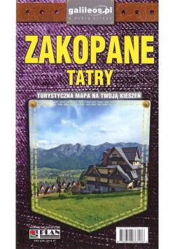 Plan kieszonkowy - Zakopane, Tatry