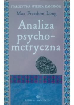 Analiza psychometryczna