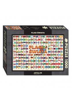 Puzzle Flagi świata 1 000 elementów