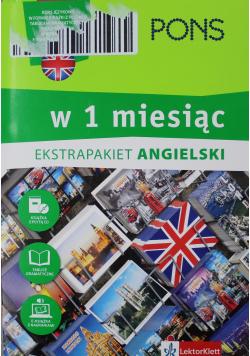 Angielski w 1 miesiąc z 3 tablicami językowymi i kursem online