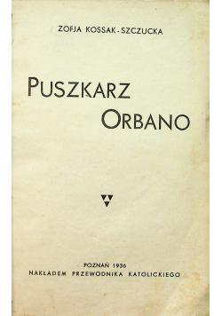 Puszkarz orbano 1936 r