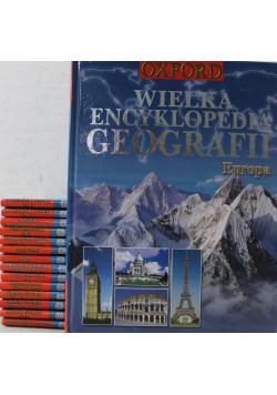Wielka encyklopedia geografii 15 tomów