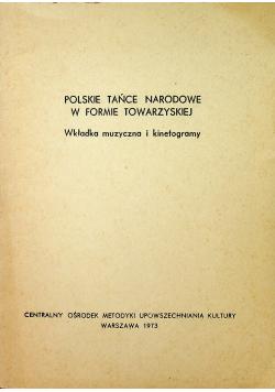 Polskie tańce narodowe w formie towarzyskiej