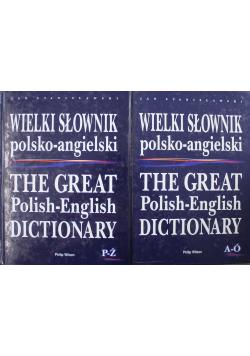 Wielki słownik polsko angielski 2 tomy
