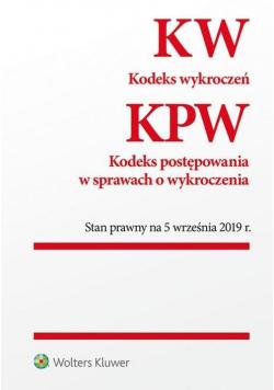 Kodeks wykroczeń, KPW w.2019