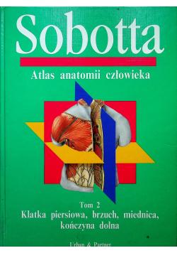 Sobotta Atlas anatomii człowieka Tom 2