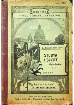 Studya i szkice Serya I 1901 r
