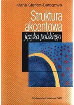 Struktura akcentowa języka polskiego