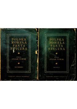 Polska nowela fantastyczna 2 tomy