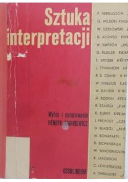 Sztuka interpretacji