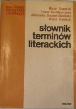 Słownik terminów literackich