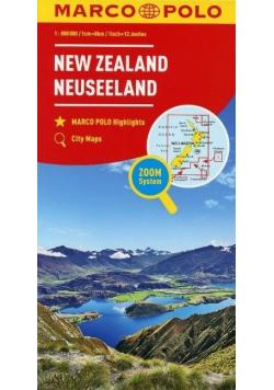 Mapa Marco Polo - Nowa Zelandia 1: 800 000