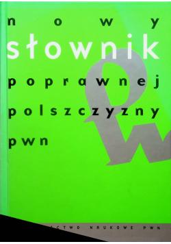 Nowy słownik poprawnej polszczyzny pwn