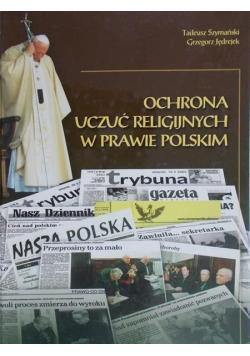 Ochrona uczuć religijnych w prawie polskim