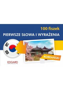 Koreański. 100 fiszek. Pierwsze słowa i wyrażenia