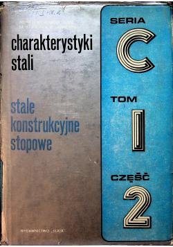 Charakterystyki stali stale konstrukcyjne stopowe Seria C Tom 1 część 2