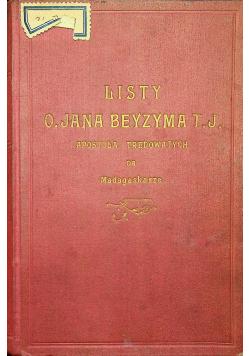 Listy O Jana Beyzyma T J 1927 r