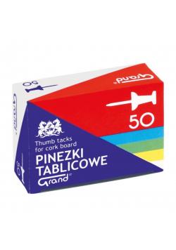 Pinezki tablicowe 50szt GRAND