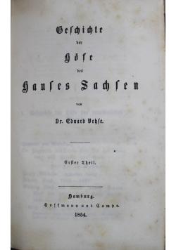 Geschichte der deutschen Hofe seit der Reformation 1854 r