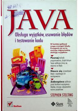 Java Obsługa wyjątków usuwanie błędów i testowanie kodu