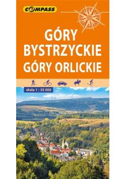 Mapa tur. - Góry Bystrzyckie i Orlickie 1:35 000
