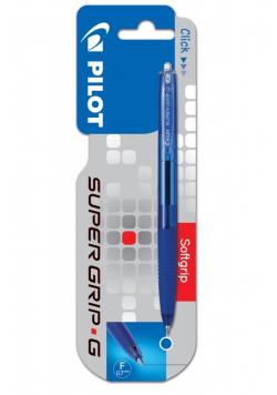 Długopis Super Grip G automat. 0.7 niebieski PILOT