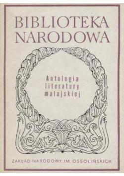 Antologia literatury malajskiej