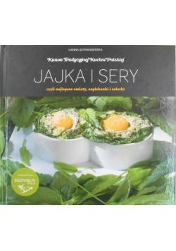 Kanon tradycyjnej kuchni Polskiej Jajka i sery