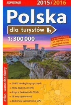 Polska dla turystów Atlas 1 300 000