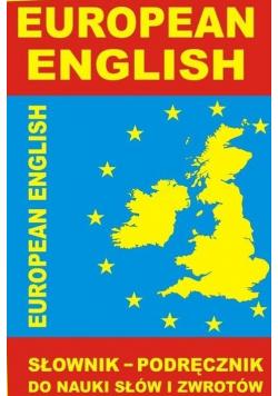 European English  Słownik podręcznik do nauki słów i zwrotów