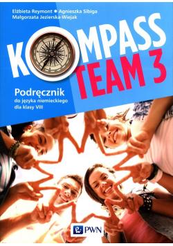 Kompass Team 3 Podręcznik do języka niemieckiego dla klasy 8