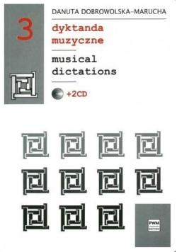 Dyktanda muzyczne cz.3 + 2CD w.4 PWM