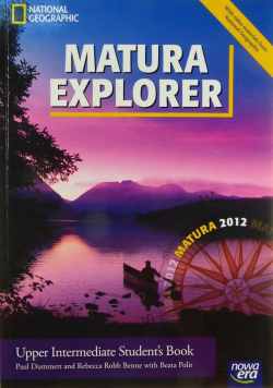 Matura Explorer Upper intermediate Student s Book Nowa