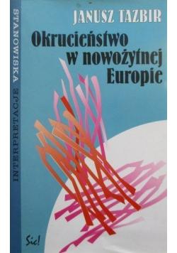 Okrucieństwo w nowożytnej Europie