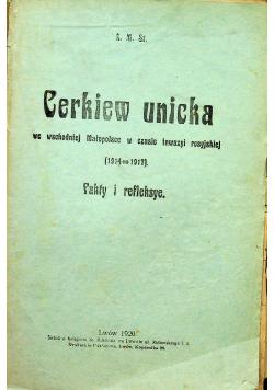 Cerkiew unicka 1920r
