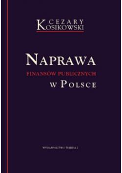 Naprawa Finansów Publicznych w Polsce Autograf Kosikowski