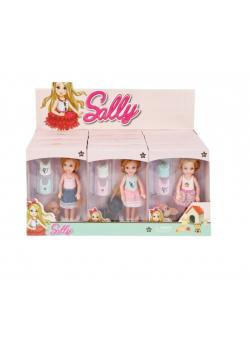 Lalka 14cm Sally z akcesoriami