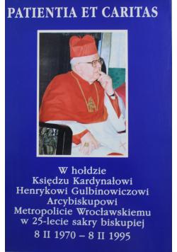 W hołdzie Księdzu Kardynałowi Henrykowi Gulbinowiczowi Arcybiskupowi